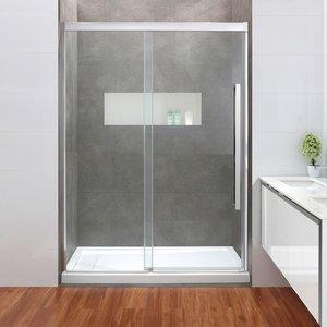 Shower set Bethove 12mm door and base 32x60