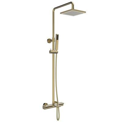 Jacki Jade Bath Thermostatic Shower Column Gold