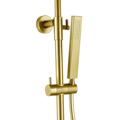 Jacki Gold thermostatic shower column