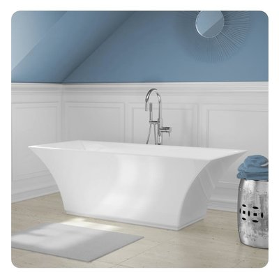 Freestanding bathtub BT768 A&E 67 ""