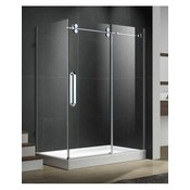 Apo shower 10mm chrome 32x48 (a) fixed
