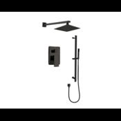 Black Track Shower Faucet Kit 680903
