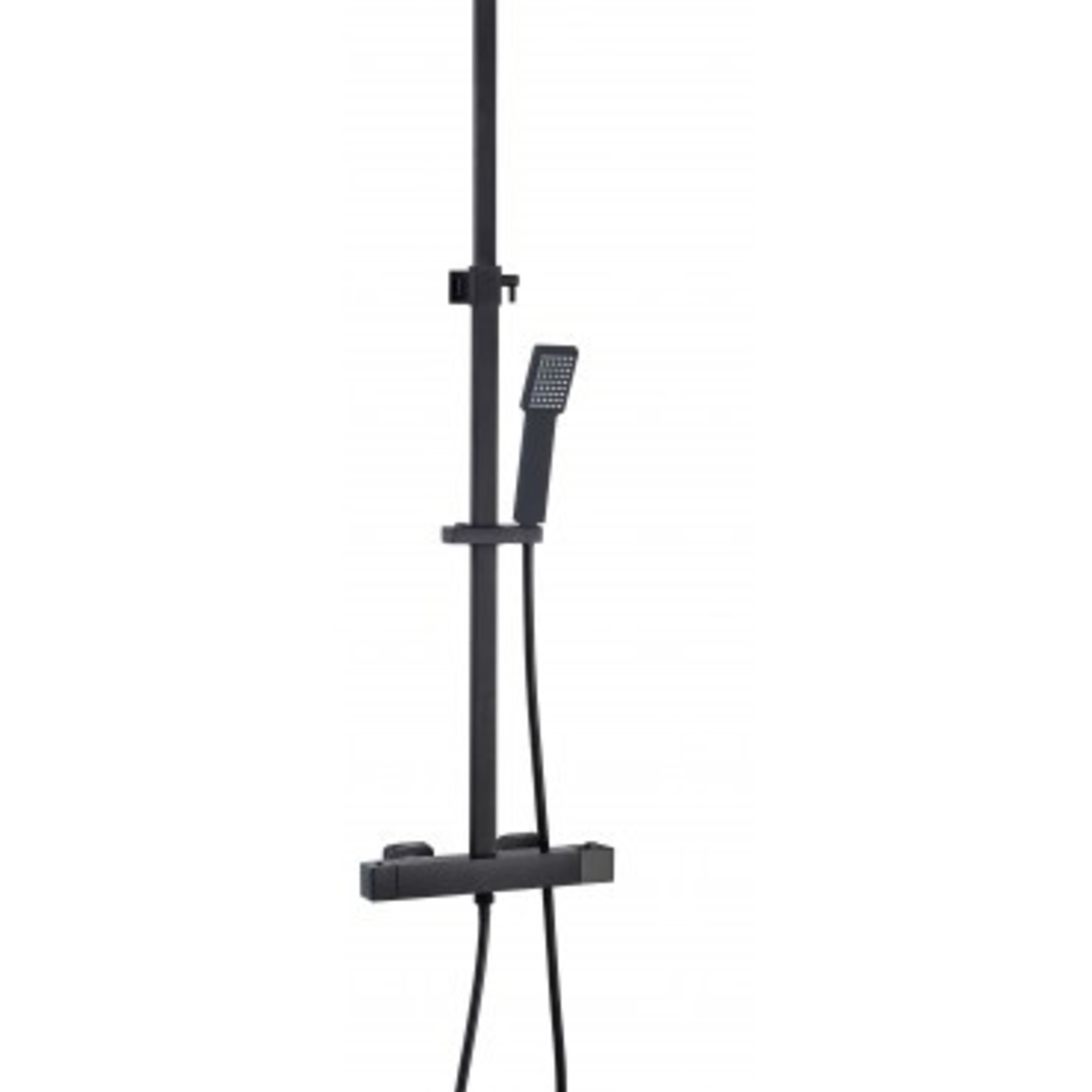 Black shower tap Kimmi collection 017-11