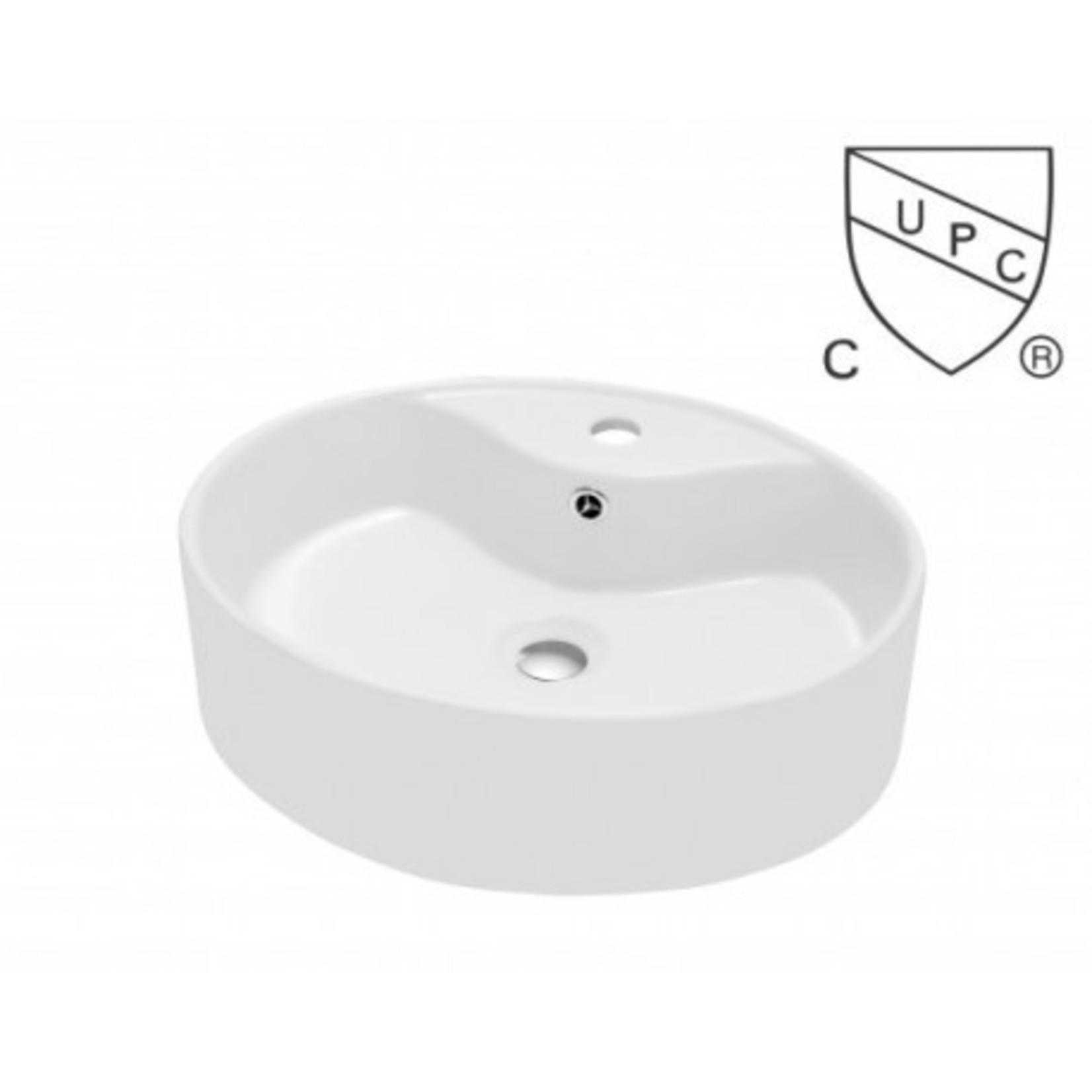 Porcelain washbasin S-600
