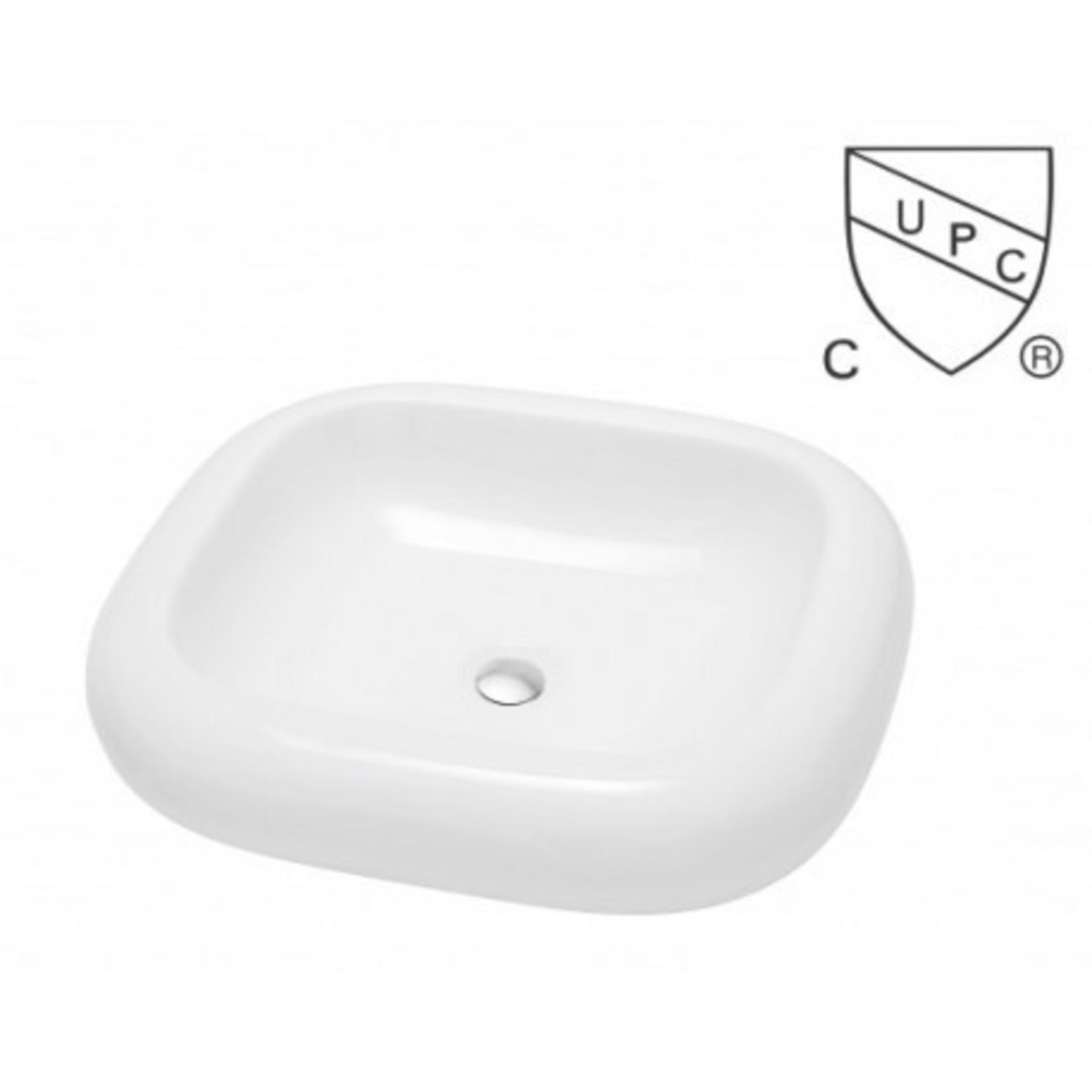 Vasque en porcelaine S-800