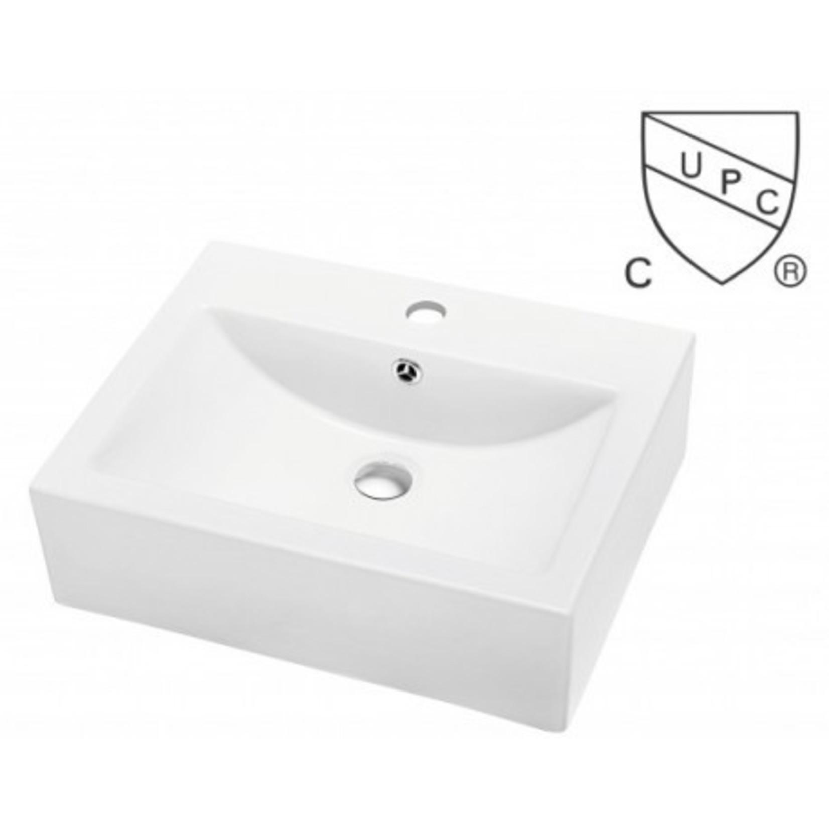 Vasque en porcelaine S-200