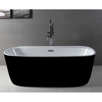 Freestanding bathtub Vola Black