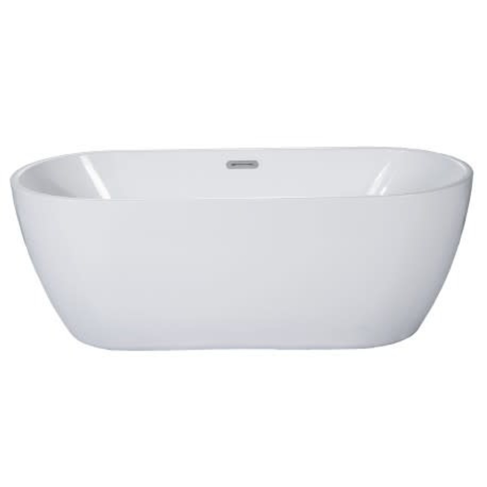 Emma Freestanding Bath White
