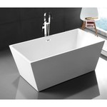 Roumana Freestanding Bath White