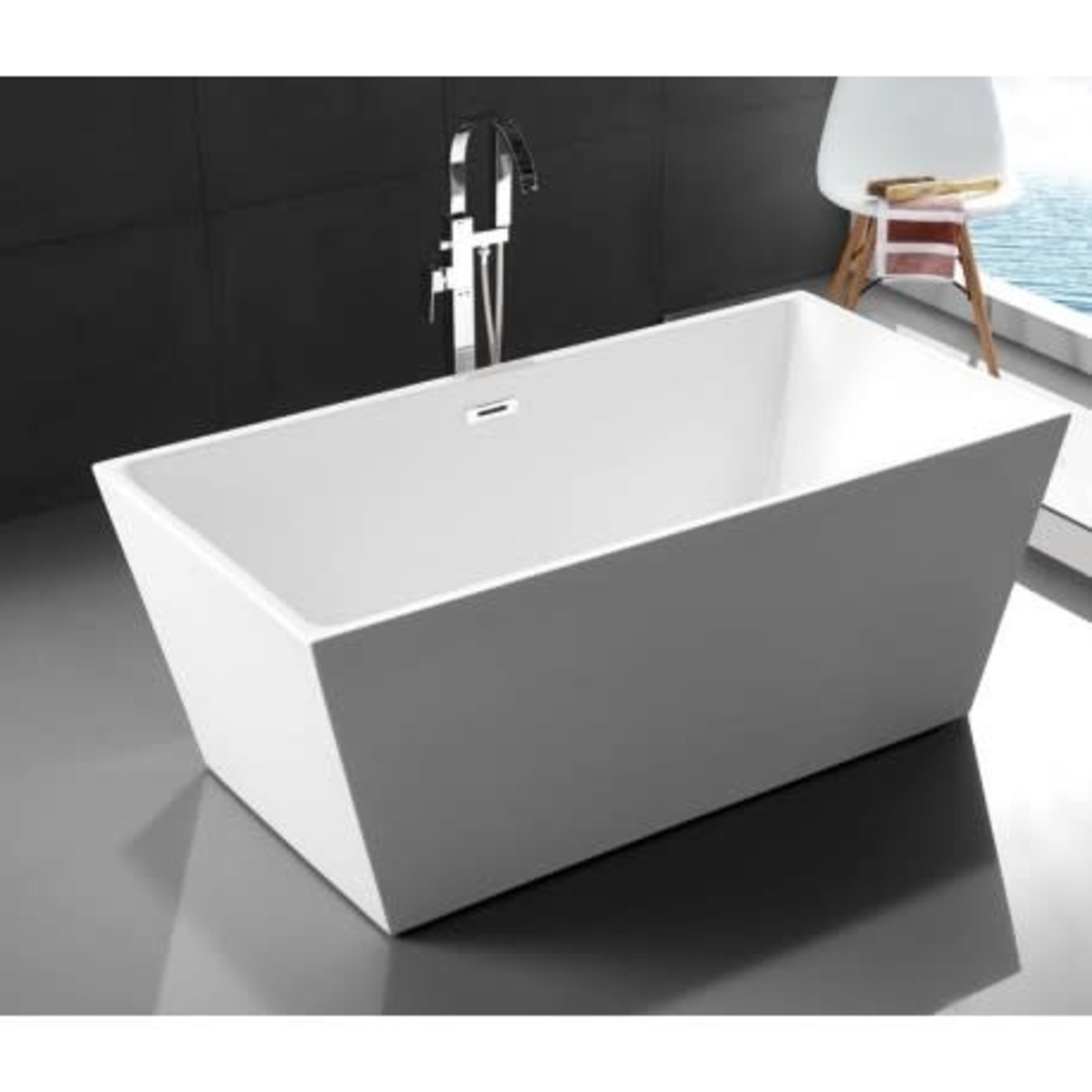 Roumana Freestanding Bath White