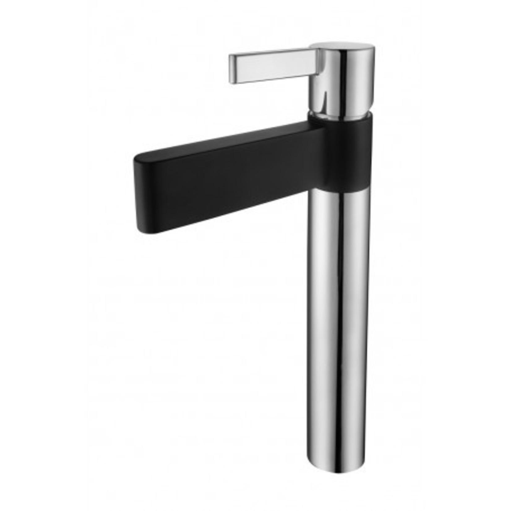 Robinet pour vasque Chrome/Noir DN-2512