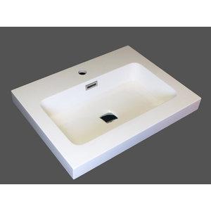 "lr605-2 24 ""LR 605-Cotton Bellati composite bathroom sink"