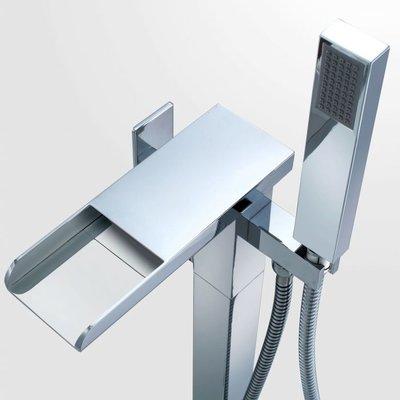 Ove Infinity Chrome Freestanding Tub Faucet