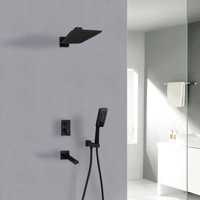 Jade Hudson Jade Black Shower Faucet
