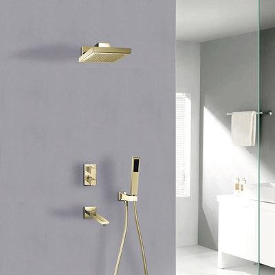 Jade  Gold Hudson Jade Shower Faucet