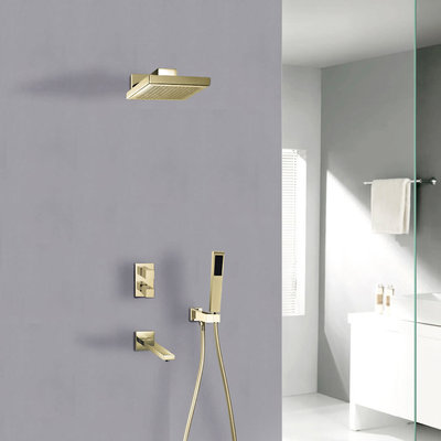 Jade Hudson Jade Gold Shower Faucet