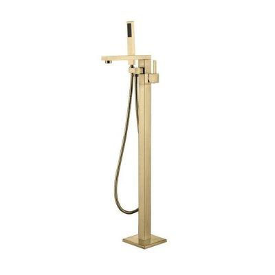 Bath faucet Brushed Gold collection Kimmi Jade Bath
