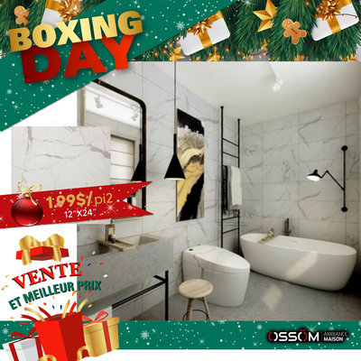 Boxing Day céramique calacatta 12x24 6610