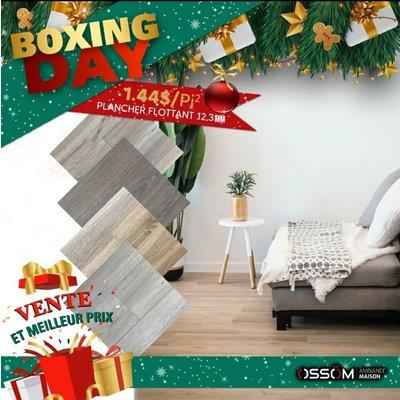 Boxing Day plancher flottant 4 couleur au choix