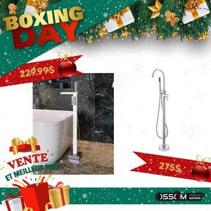 Boxing Day robinet de bain autoportant