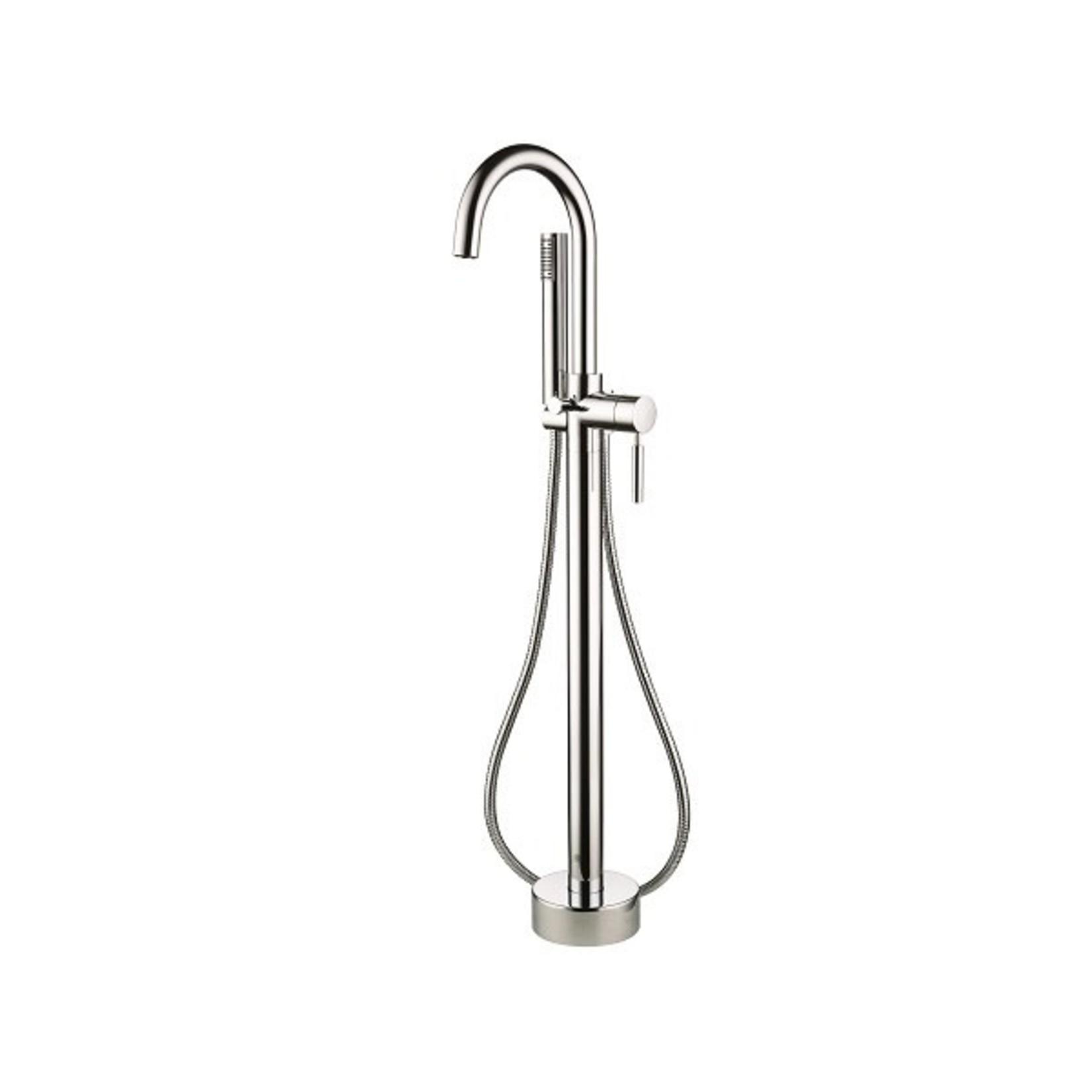 Robinet de bain sur pied chrome collection Elyn NRD-S123-01