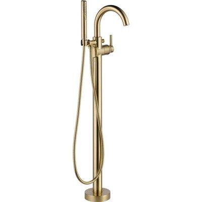 NRD-S128-044-BB Freestanding Bathtub Faucet Brushed Brass