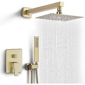 Brushed gold shower faucet Kimmi collection NRD -25-4701BG