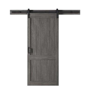 Ove Barn Door Ove Homestead 106JS 36x84 Carbon Gray