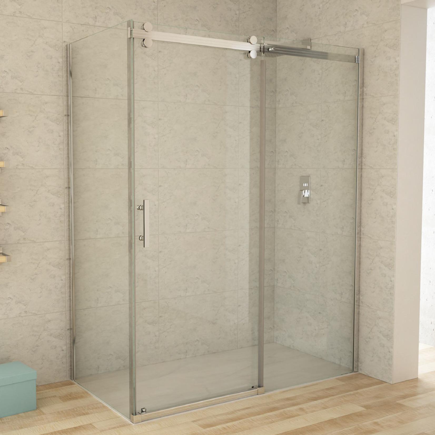 Reversible chrome shower set 32x48 CDC
