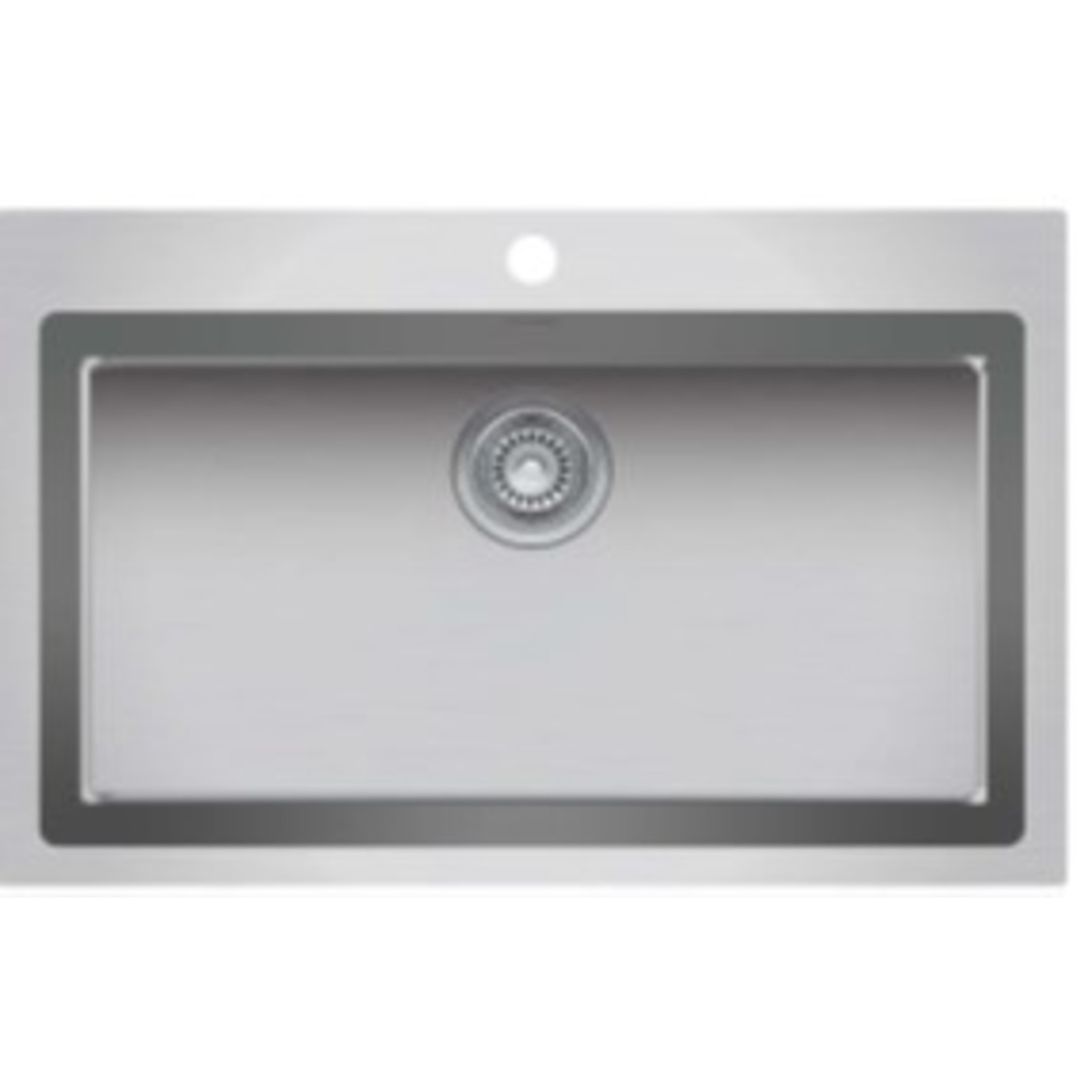 "Single bowl countertop kitchen sink 313/8 ""x 205/8"" x 9 ""Nautika ZR103"