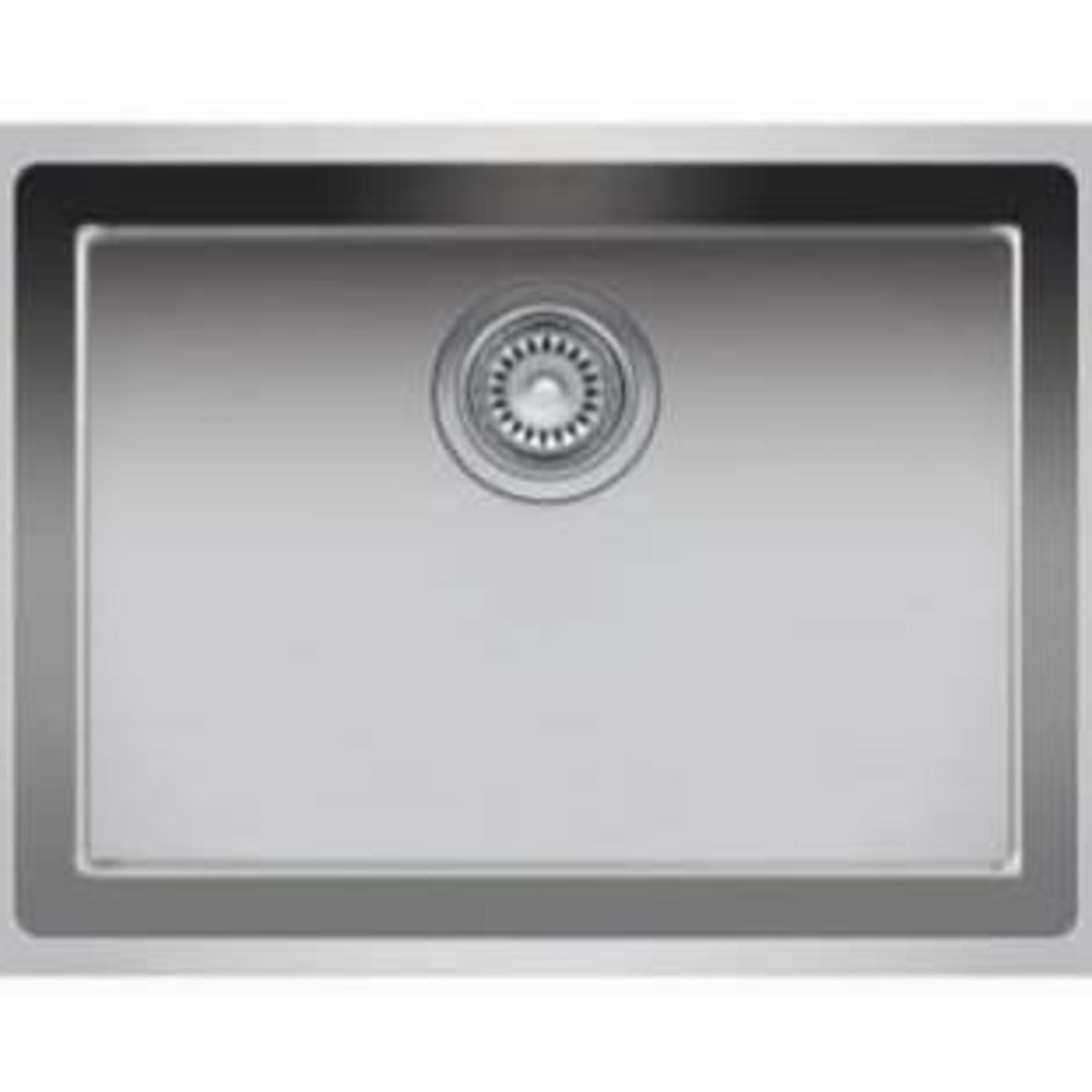 """Single bowl undermount kitchen sink 23 """"x 18"""" x 9 """"Nautika ZR104U"""