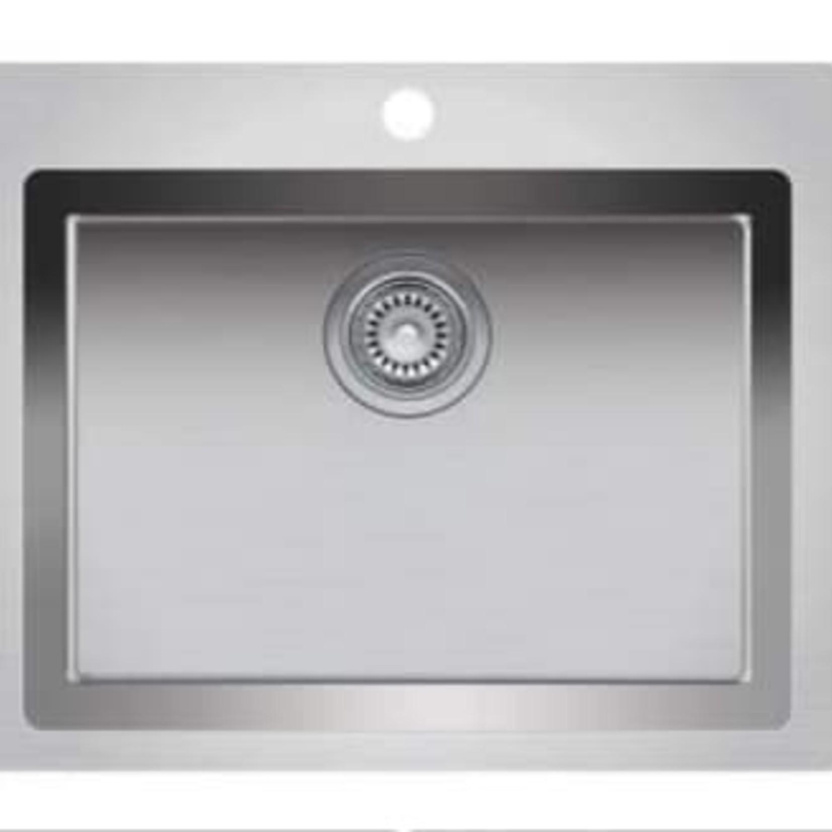 Single bowl undermount kitchen sink 207/8 'x 201/2' x 9 'Nautika ZR110