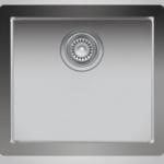 """Single bowl undermount kitchen sink 18 """"x 16"""" x 9 """"Nautika ZR105U"""