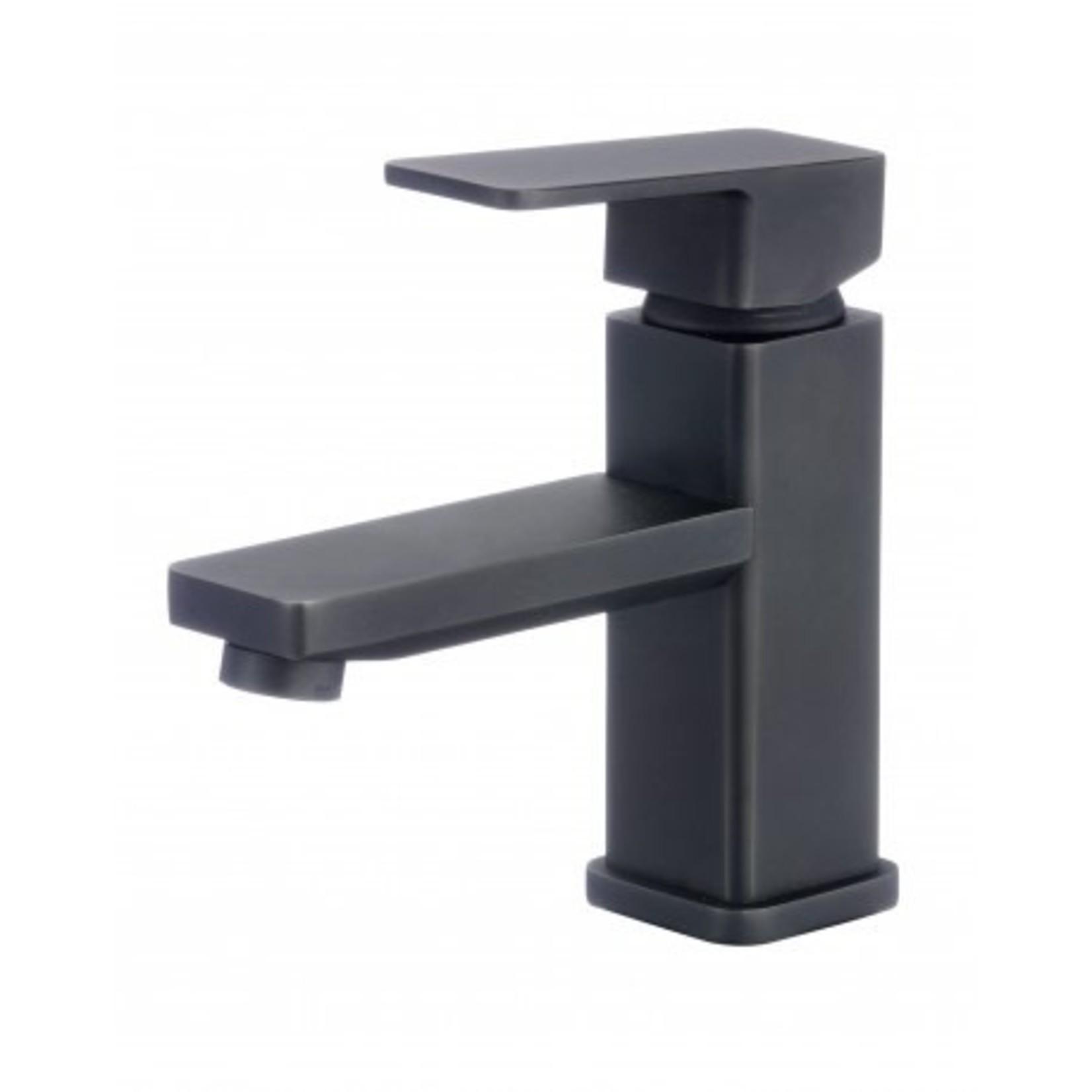 Matte Black Lavatory Faucet 153-11