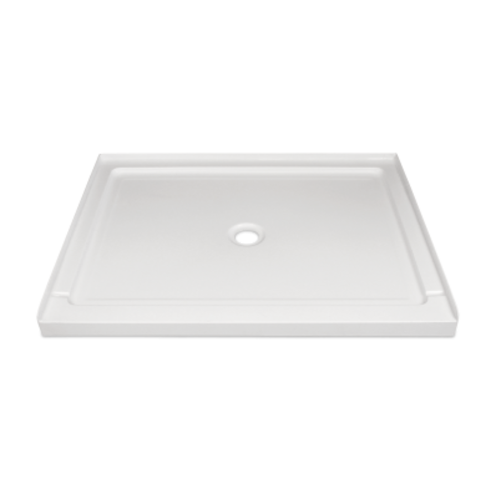 Base de douche 36x48 drain central Nautika