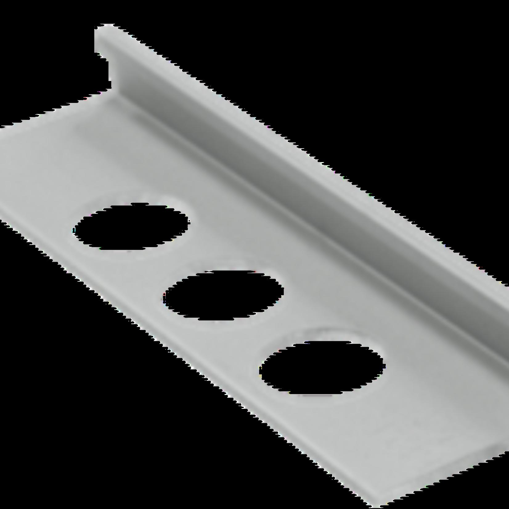 Moulure de céramique 3/8'' (10 mm) Chrome Olympia