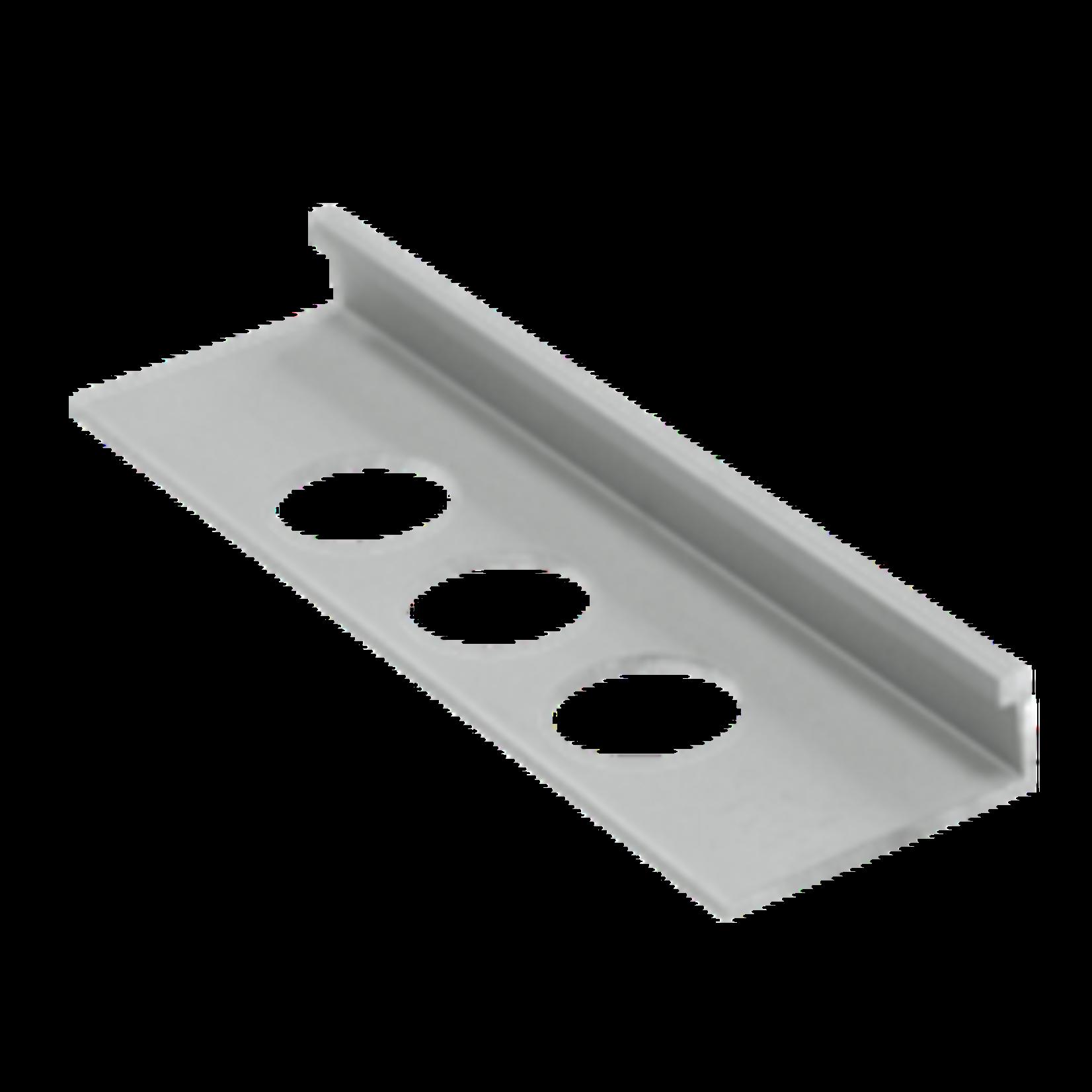 Moulure de céramique en aluminium 3/8'' (10 mm) Chrome OL