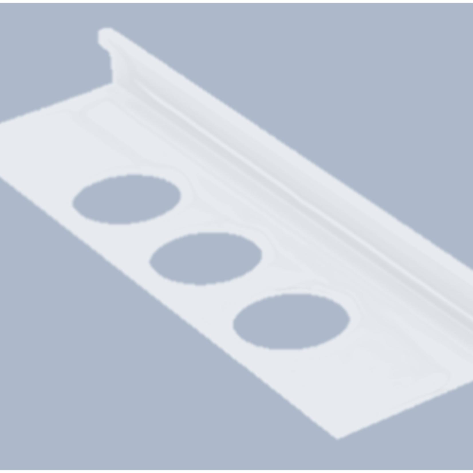 Moulure de céramique 1/2''(12.5mm) Blanc OL