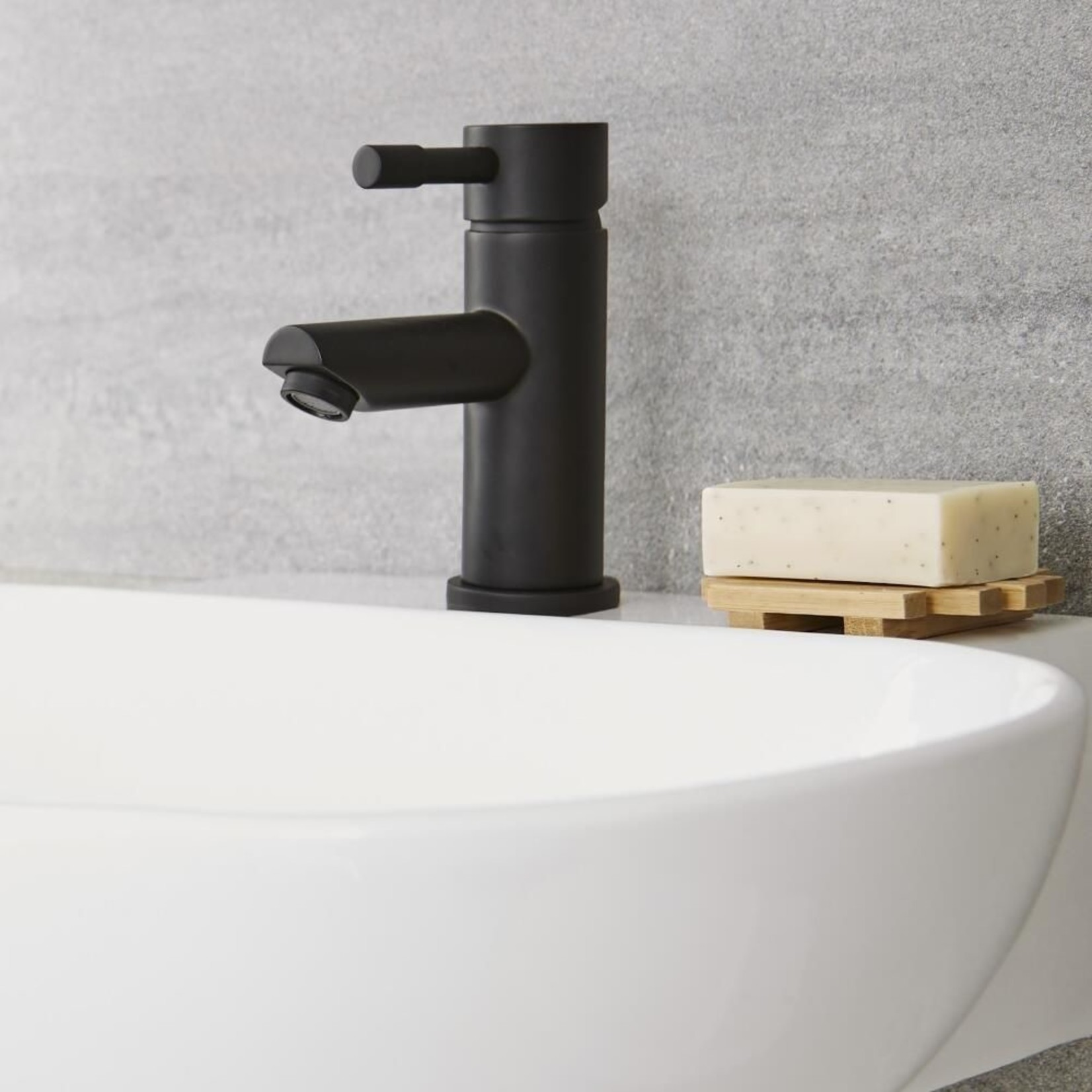 Robinet de lavabo noir mat NRD-204-MB Nortrends