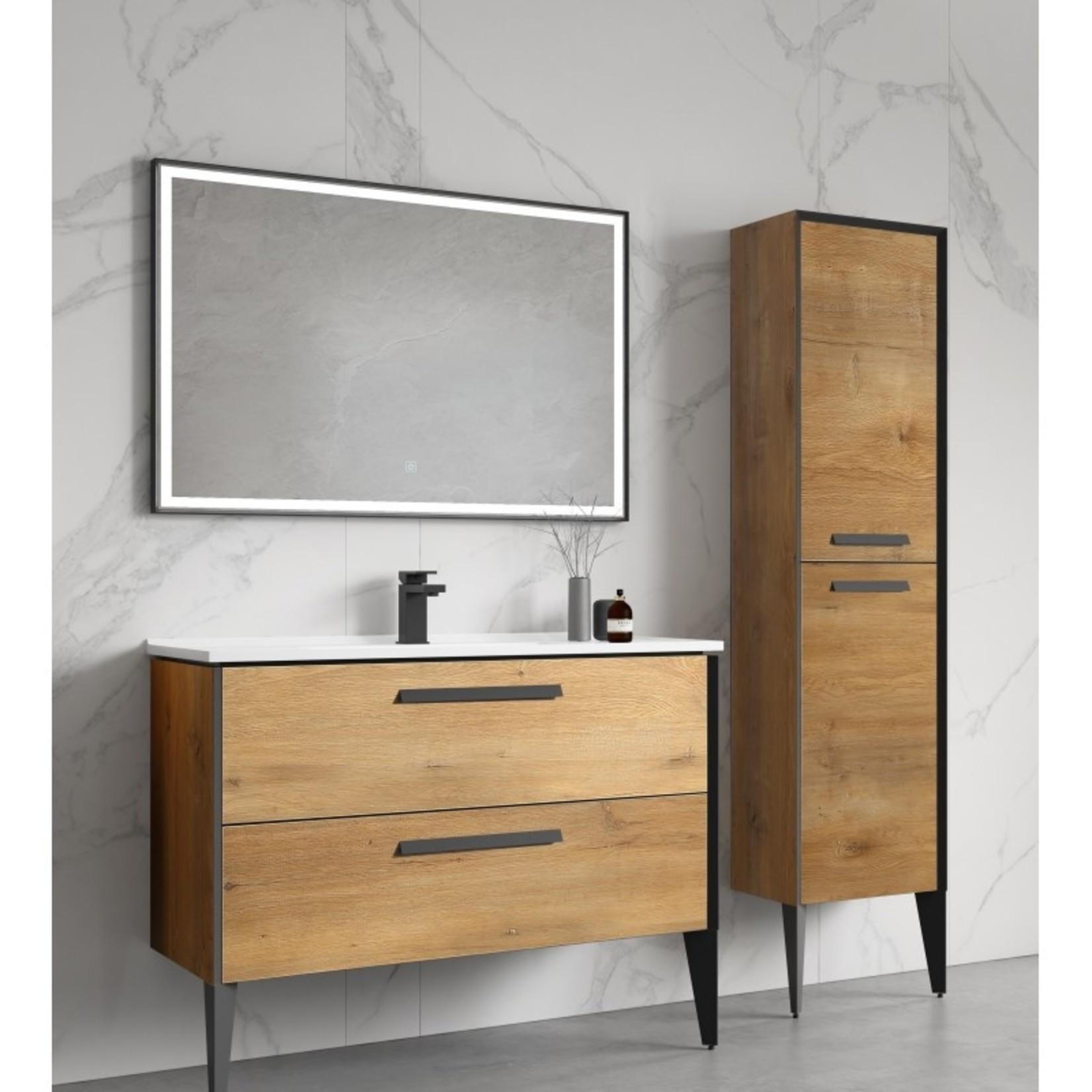 40 '' European oak vanity Capri series