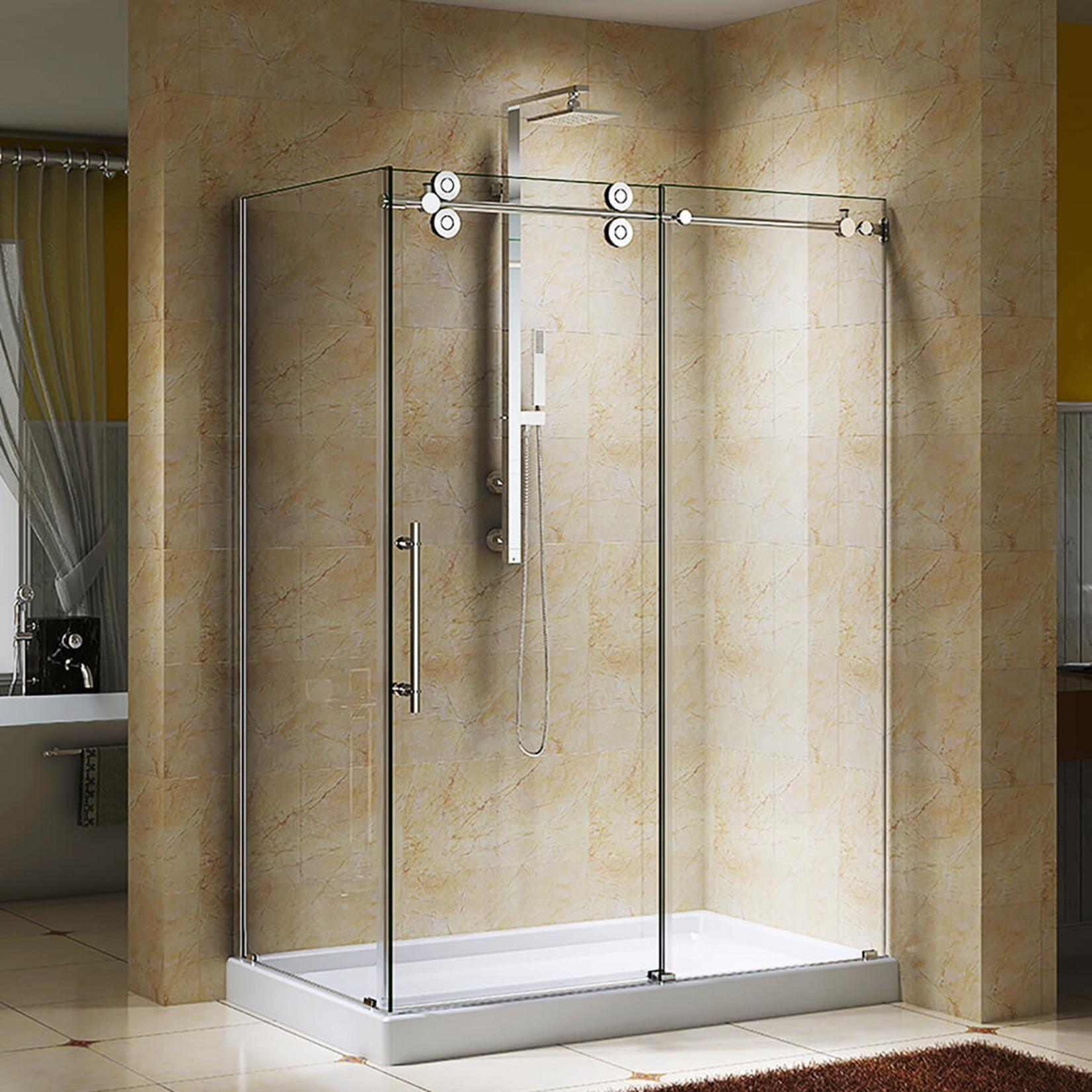 Reversible shower set 10mm chrome Zirkon Jade series