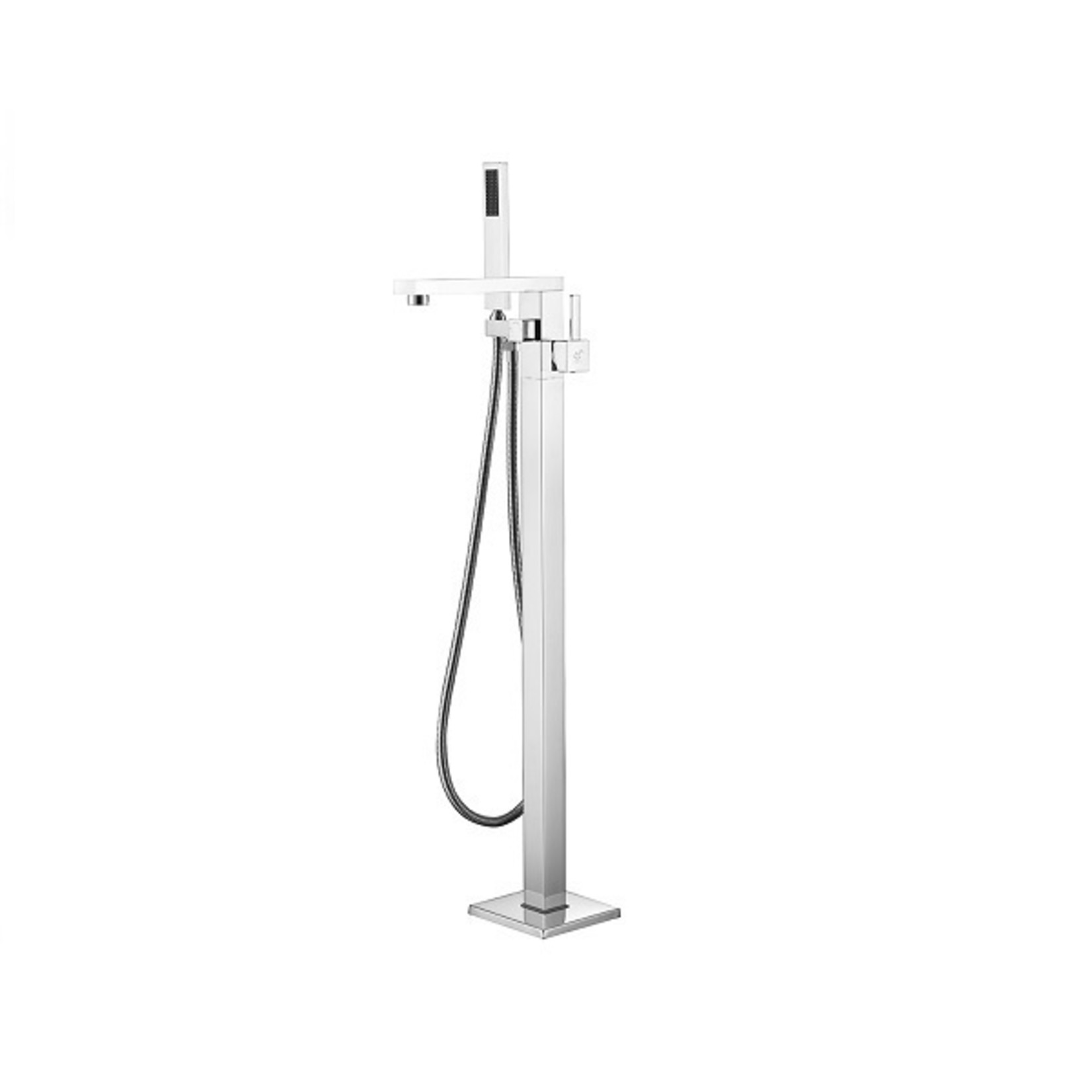 Freestanding bath faucet 3824 Chrome