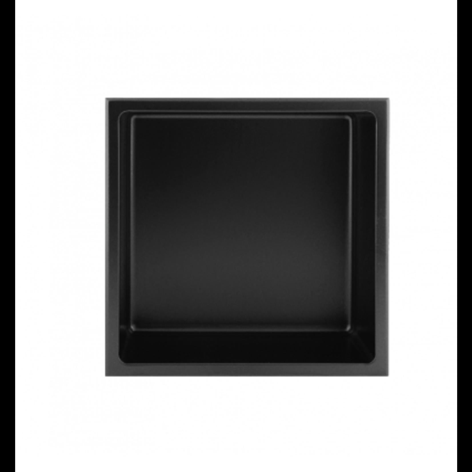 Wall niche 12x12 Black Nautika NI1212B