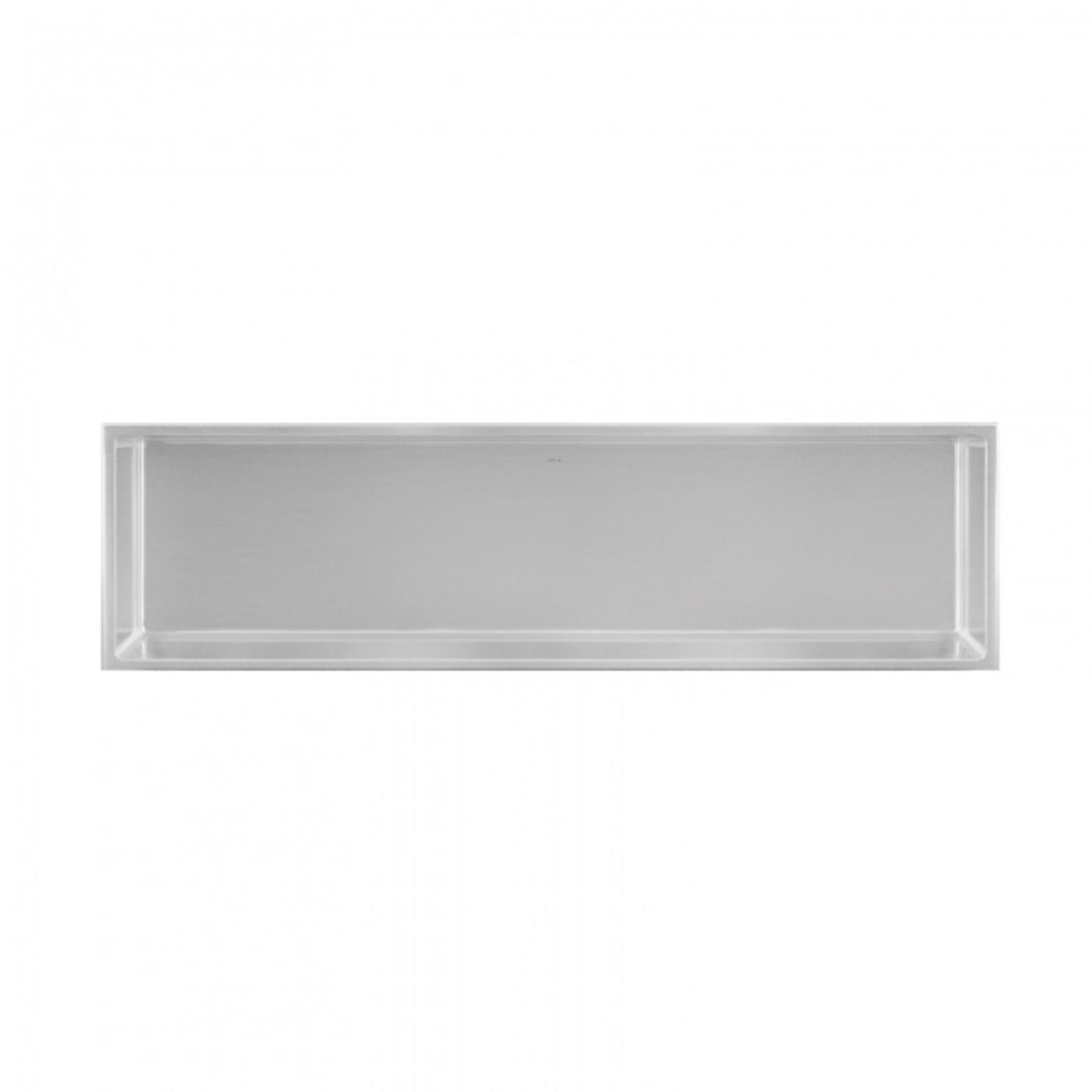 Wall niche 12x48 Stainless steel Nautika NI1248