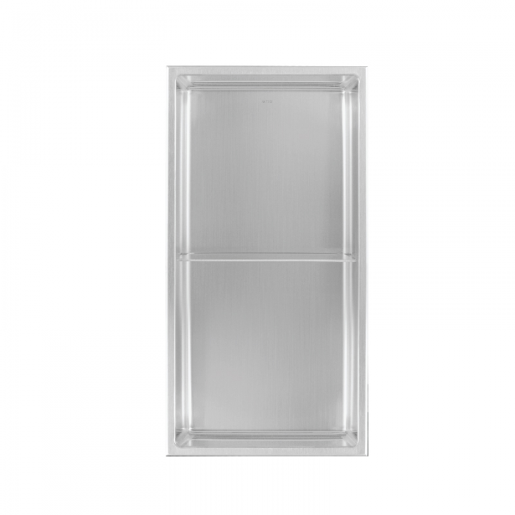 Wall niche with shelf 24x12 Stainless steel Nautika NI2412T