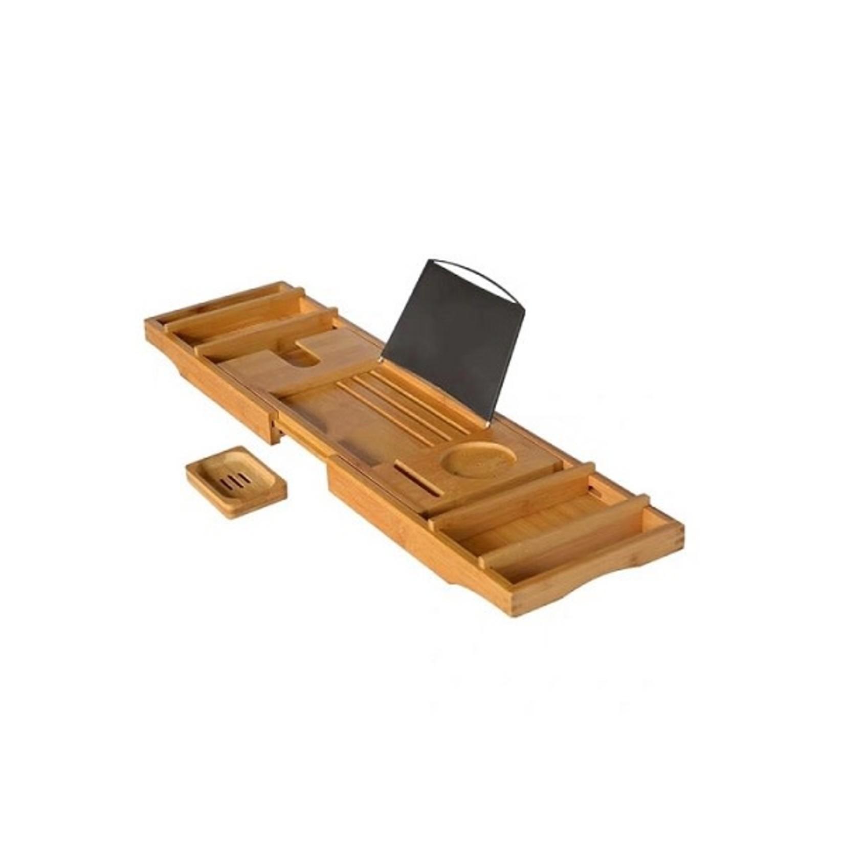 Caddy pour baignoire en bamboo