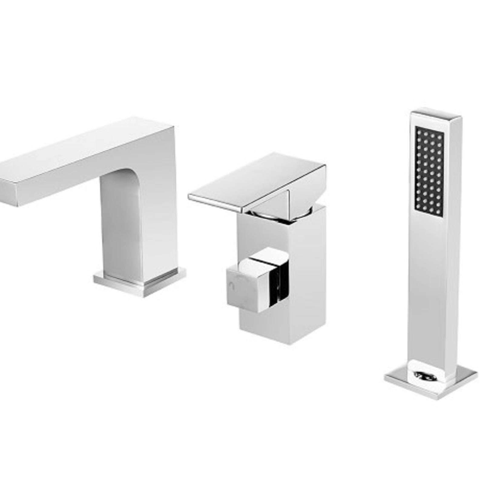 Roman bath faucet chrome MI-3821