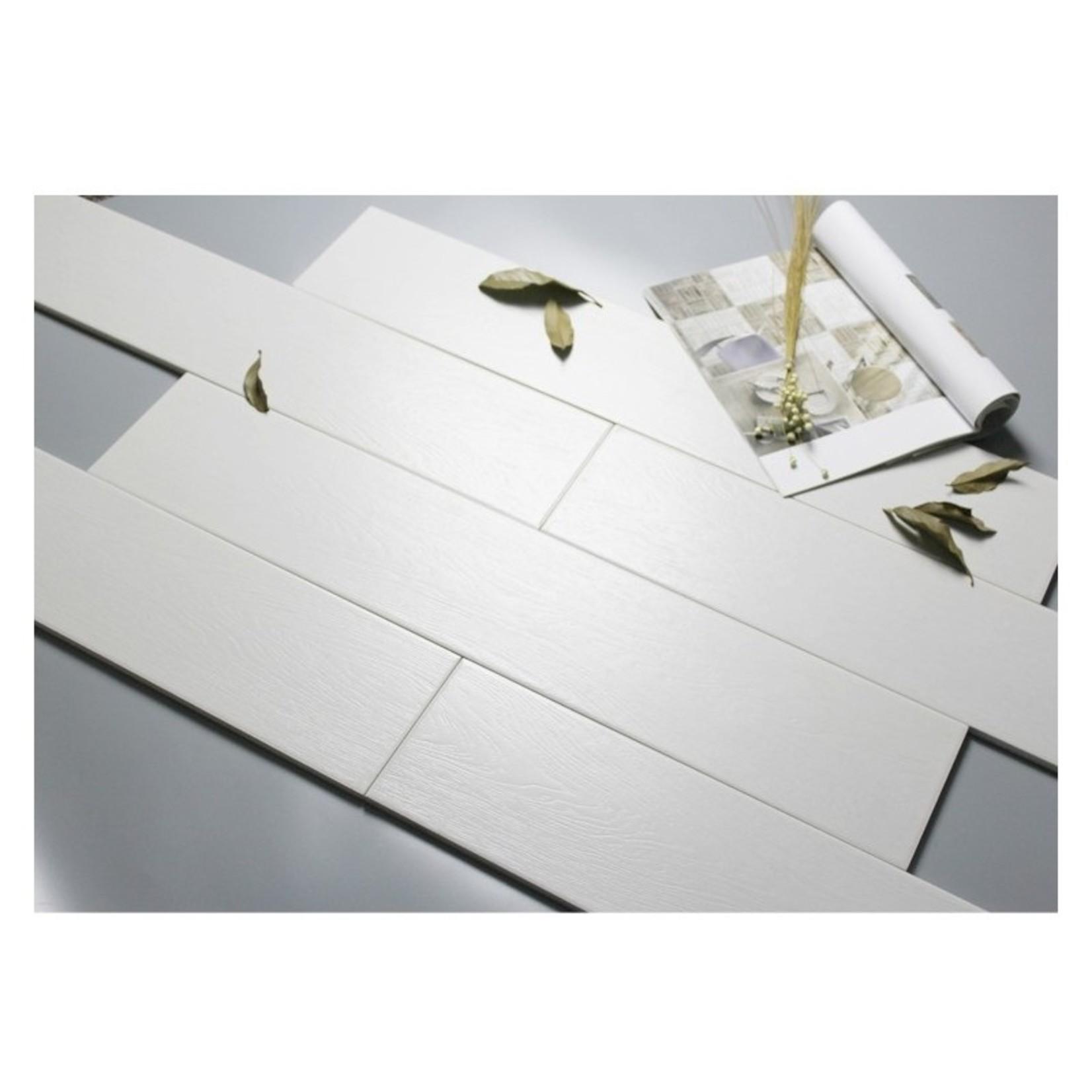 Ceramique 631.5 -1580186 imitation bois blanc
