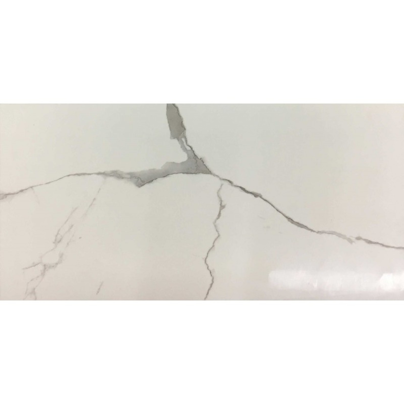 Ceramique style calacatta blanc lustré  1224-6610 16pc par boite