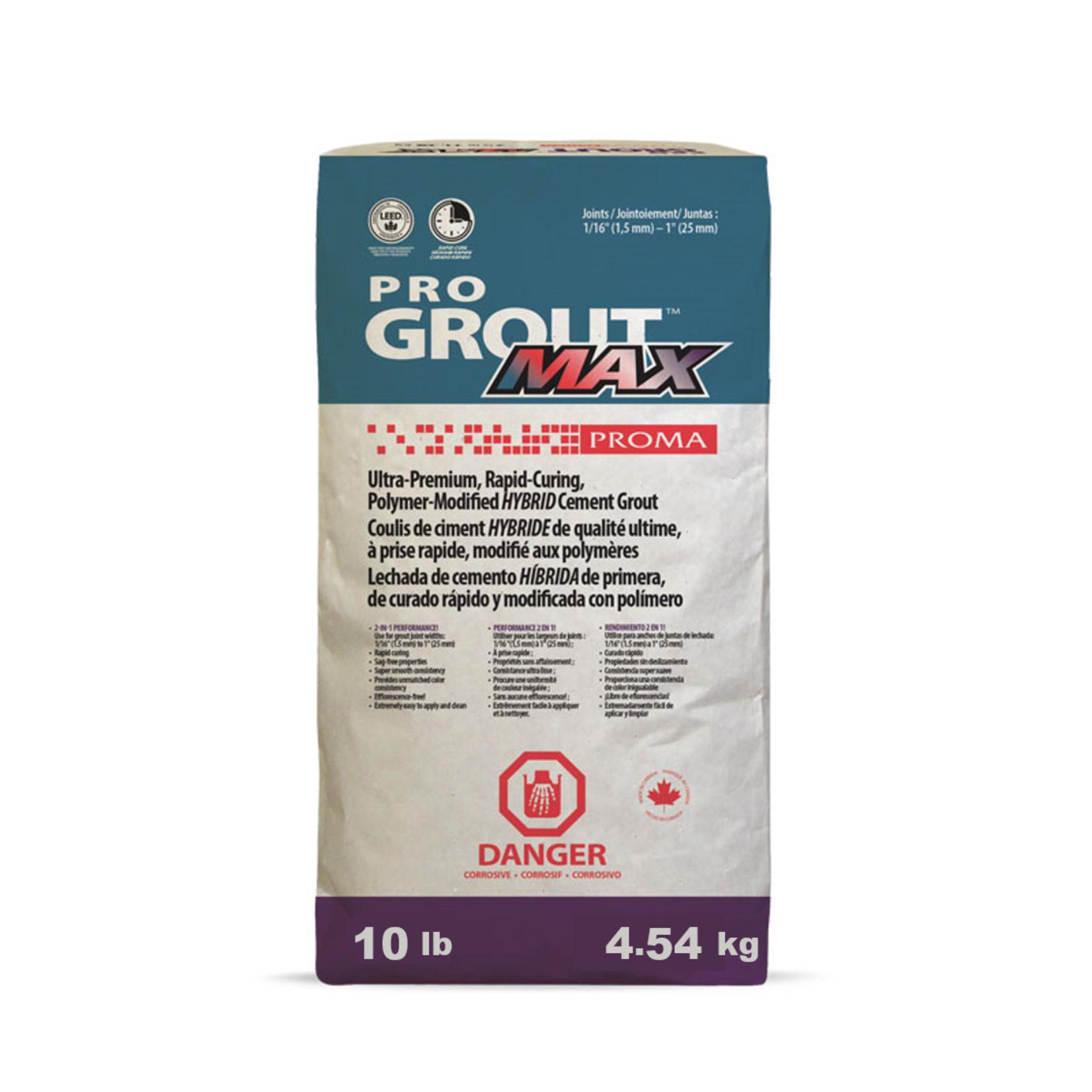 Coulis Grout Max #50 Titanium  4.54kg (10lbs)